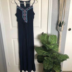 Lily rose maxi Aztec dress
